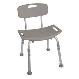 Deluxe, K.D. Aluminum Bath Seat