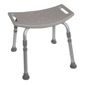 Deluxe, K.D. Aluminum, Bath Bench without Back
