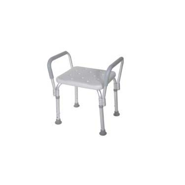 Bath Bench with Detachable Padded Arms
