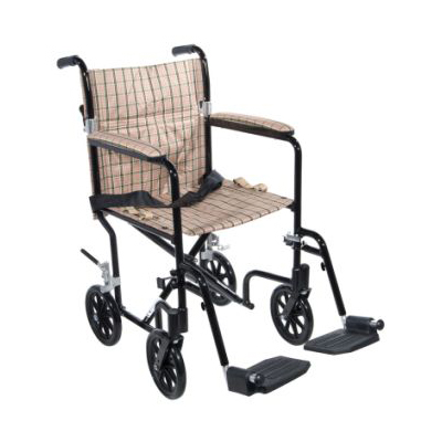 Drive Deluxe Fly-Weight Aluminum Transport Chair