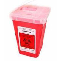 Lock-Up Sharps Container Red 1 Quart 8900SA