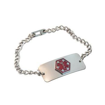 Medical Emergency Bracelet (See Wallet Card)