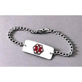 Medical Emergency Bracelet (To Be Engraved)