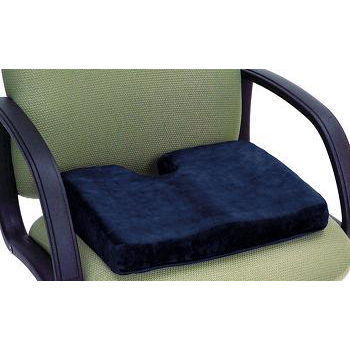 Memory Foam Sculpted Seat With Cut Out