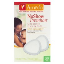 No Show Premium Disposable Nursing Pads