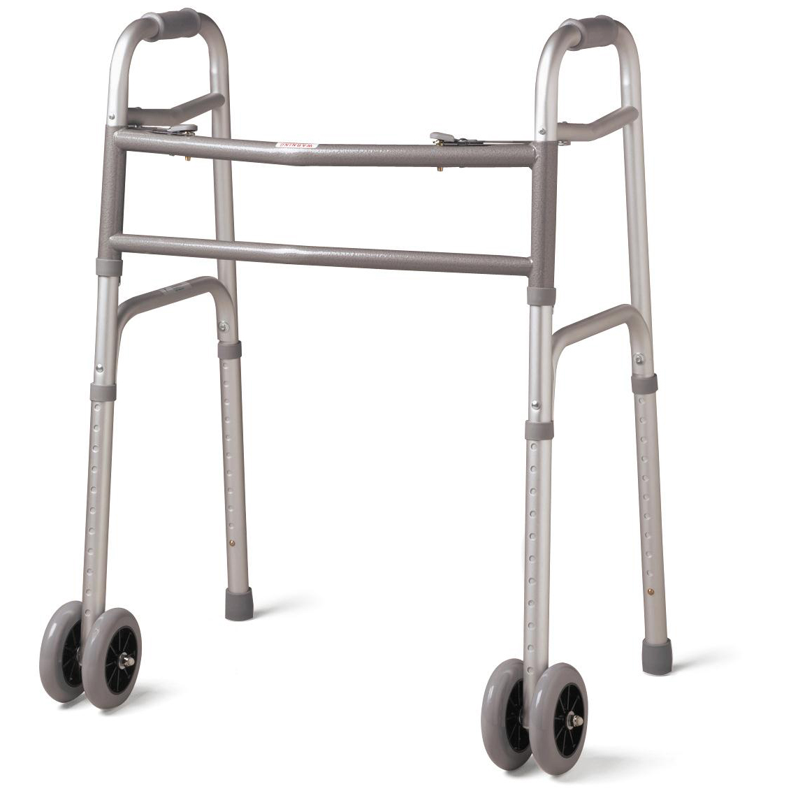Bariatric Folding Walker with 5'' Wheels