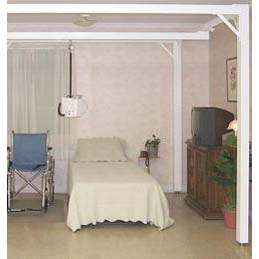 Prism Medical Square 4-Post Tier System