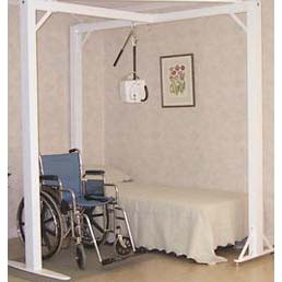 Prism Medical T-Shape 3-Post Bedroom System