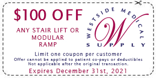 $100 Off Any Maxi Comfort and Comforter Series Lift Chairs Limit one coupon per customer Expires July 1st, 2017